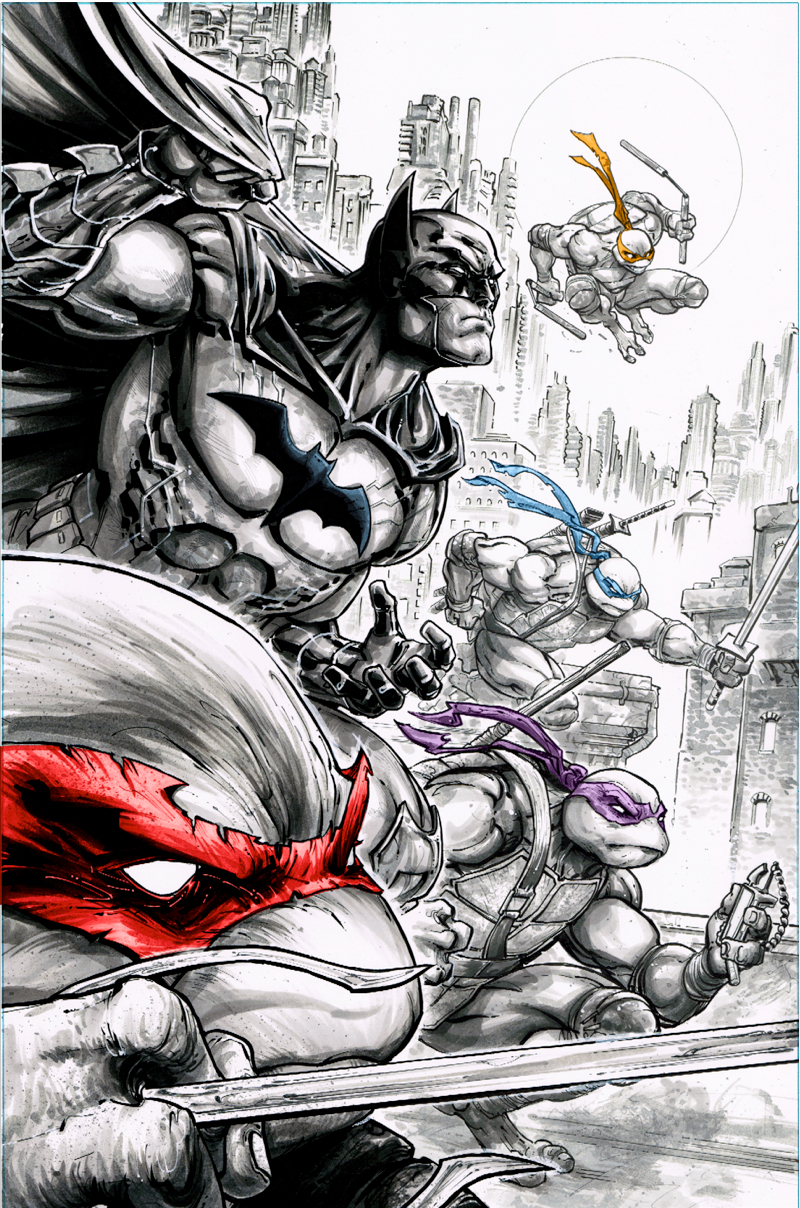 BATMAN TEENAGE MUTANT NINJA TURTLES #2