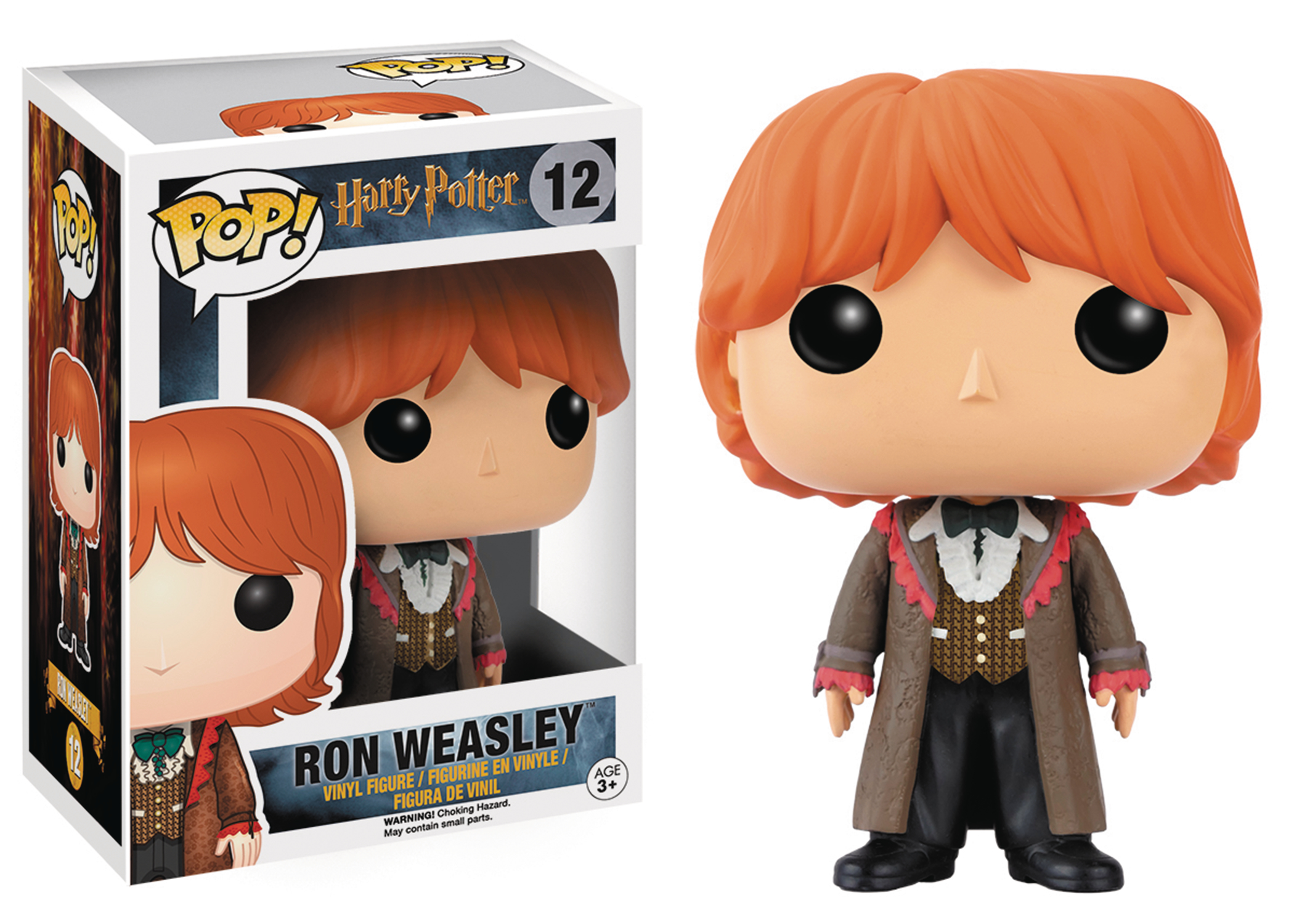 POP HARRY POTTER RON YULE BALL VINYL FIG