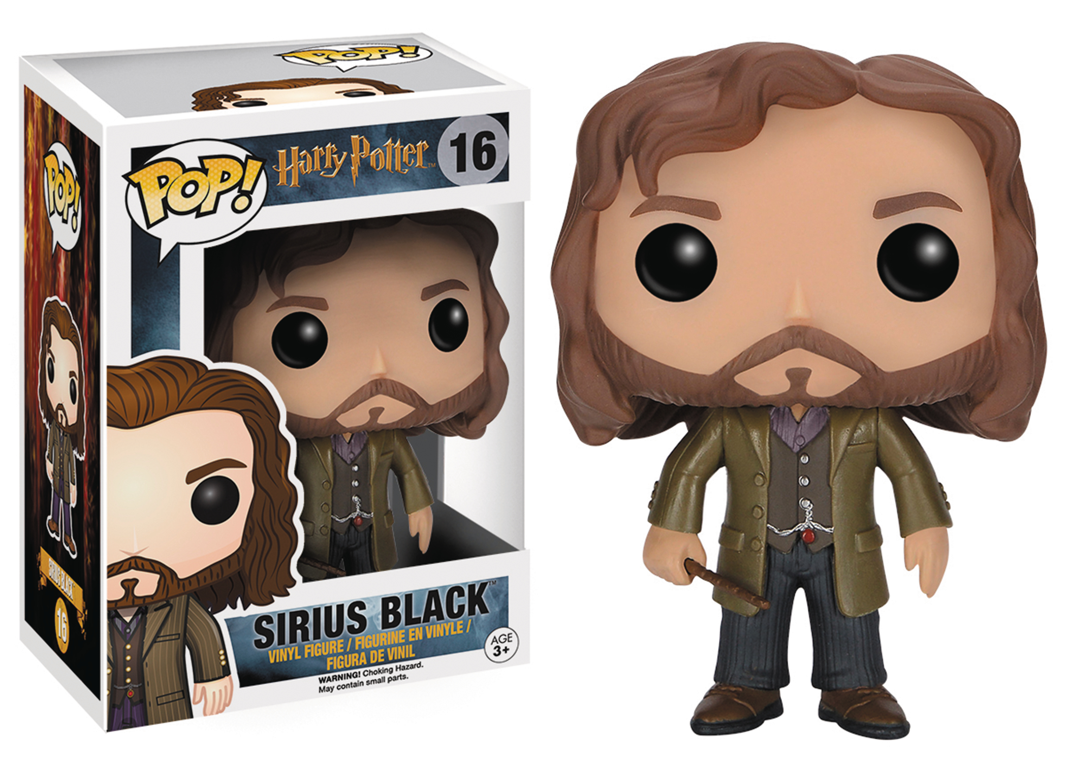 POP HARRY POTTER SIRIUS BLACK VINYL FIG
