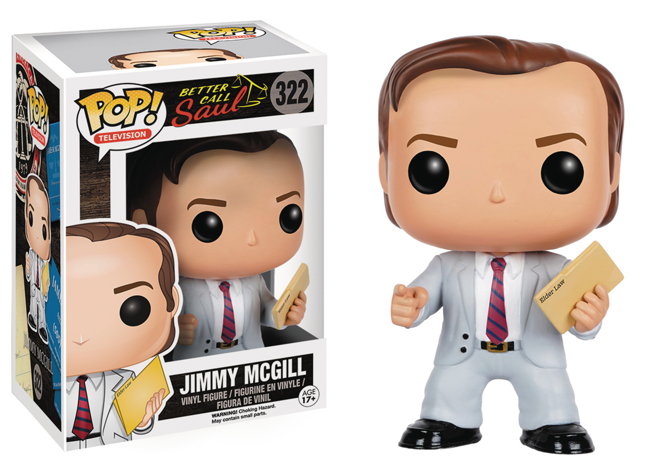 POP TV BETTER CALL SAUL JIMMY MCGILL VINYL FIG