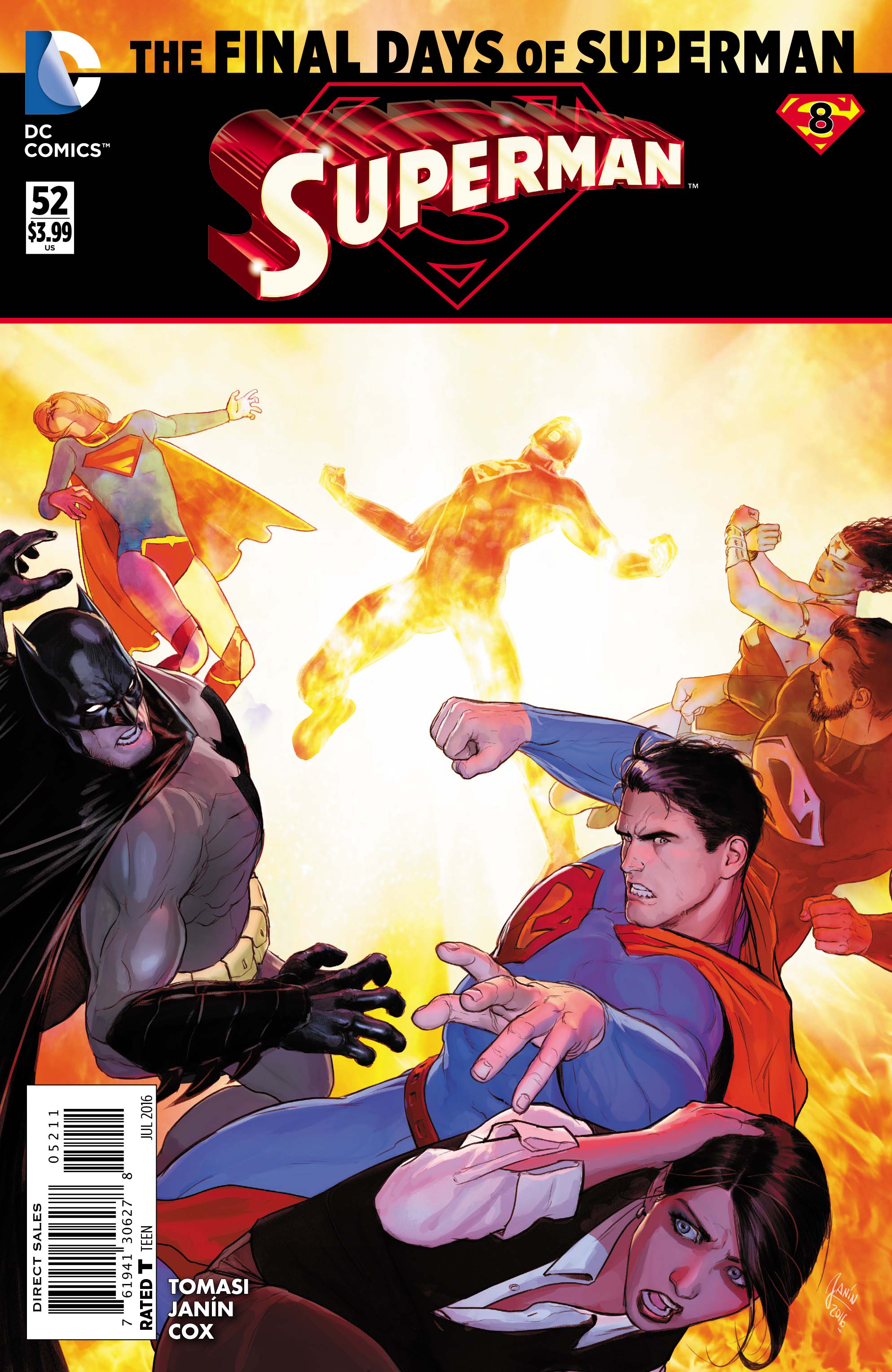 SUPERMAN #52 (FINAL DAYS)