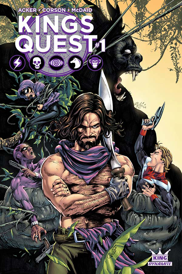 KINGS QUEST #1 (OF 5) CVR C LAU