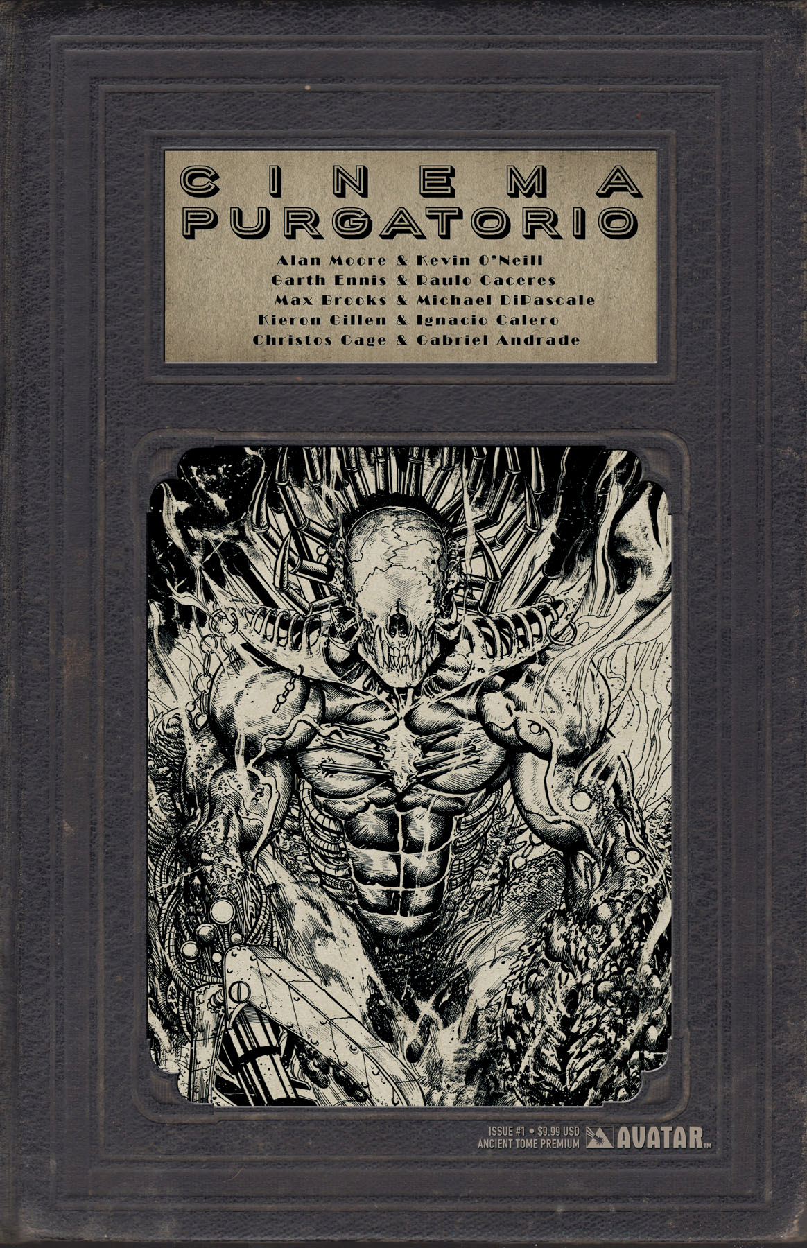 CINEMA PURGATORIO #1 ANCIENT TOME PREMIUM CVR (MR)