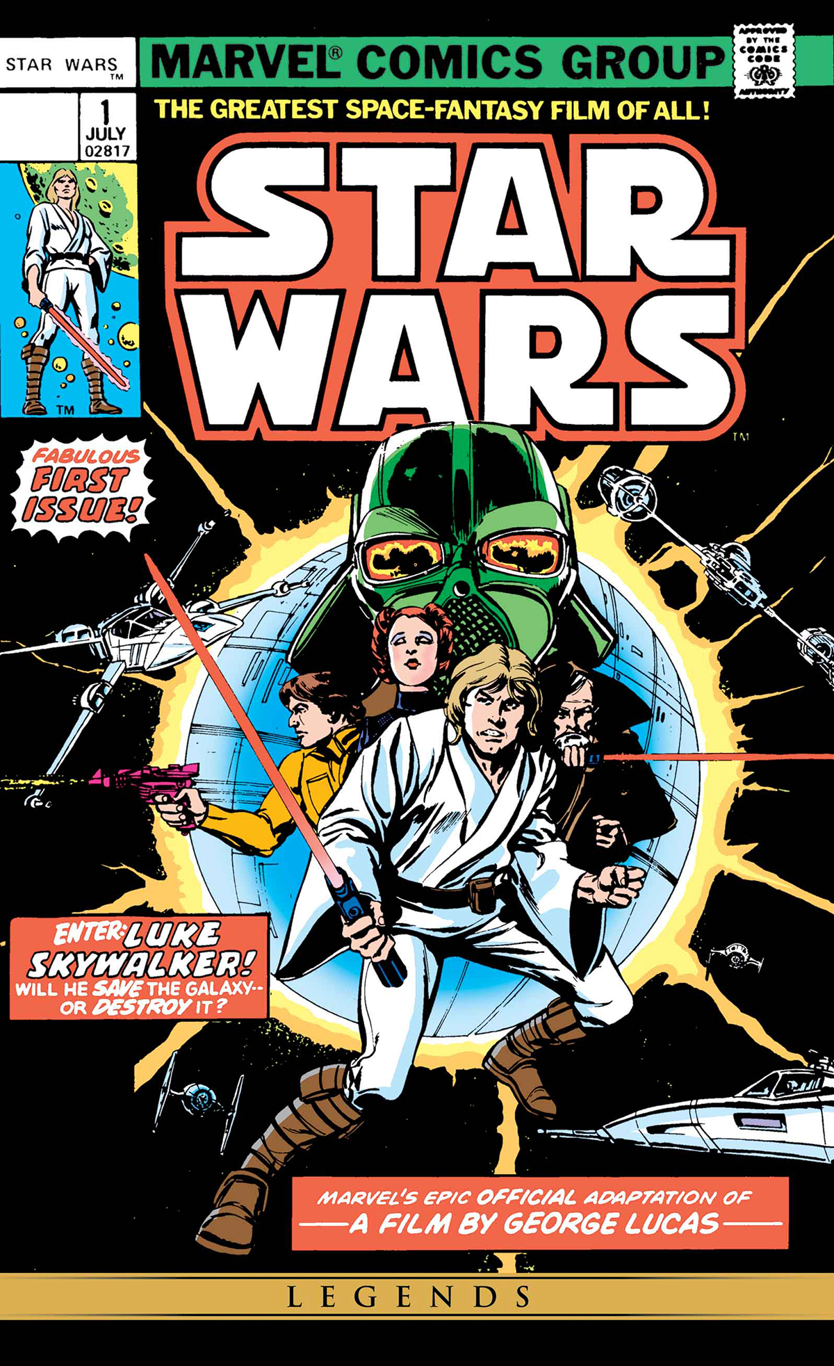TRUE BELIEVERS STAR WARS CLASSIC #1