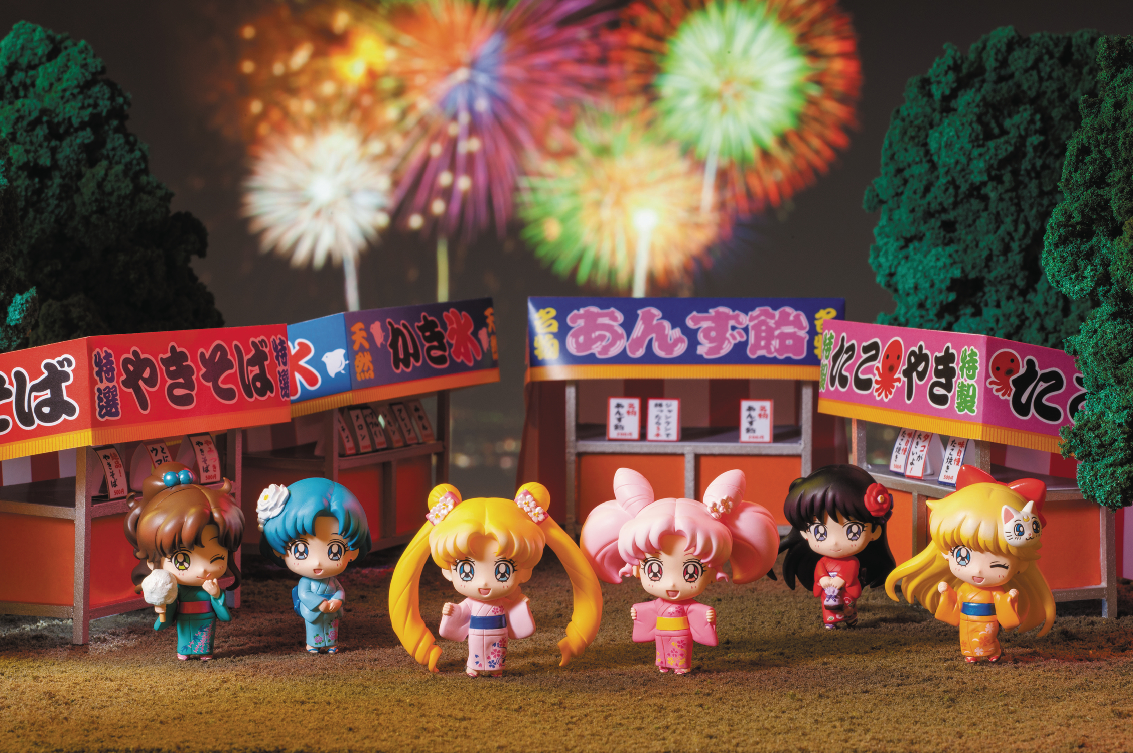 SAILOR MOON PETIT CHARA SAILOR LETS GO FESTIVAL VER