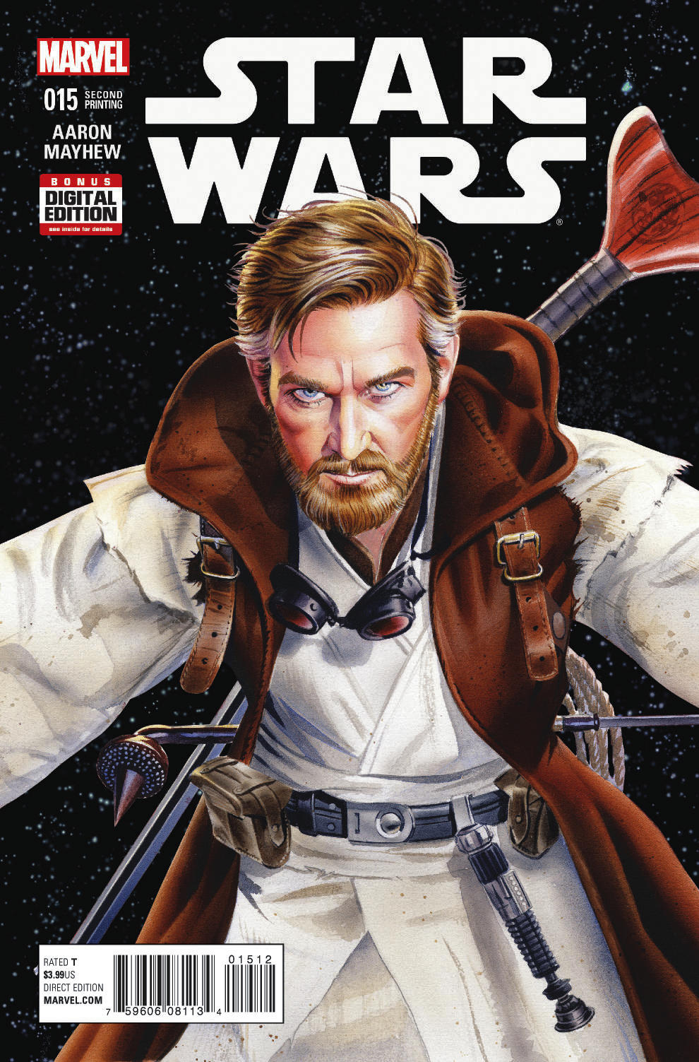 STAR WARS #15 MAYHEW 2ND PTG VAR