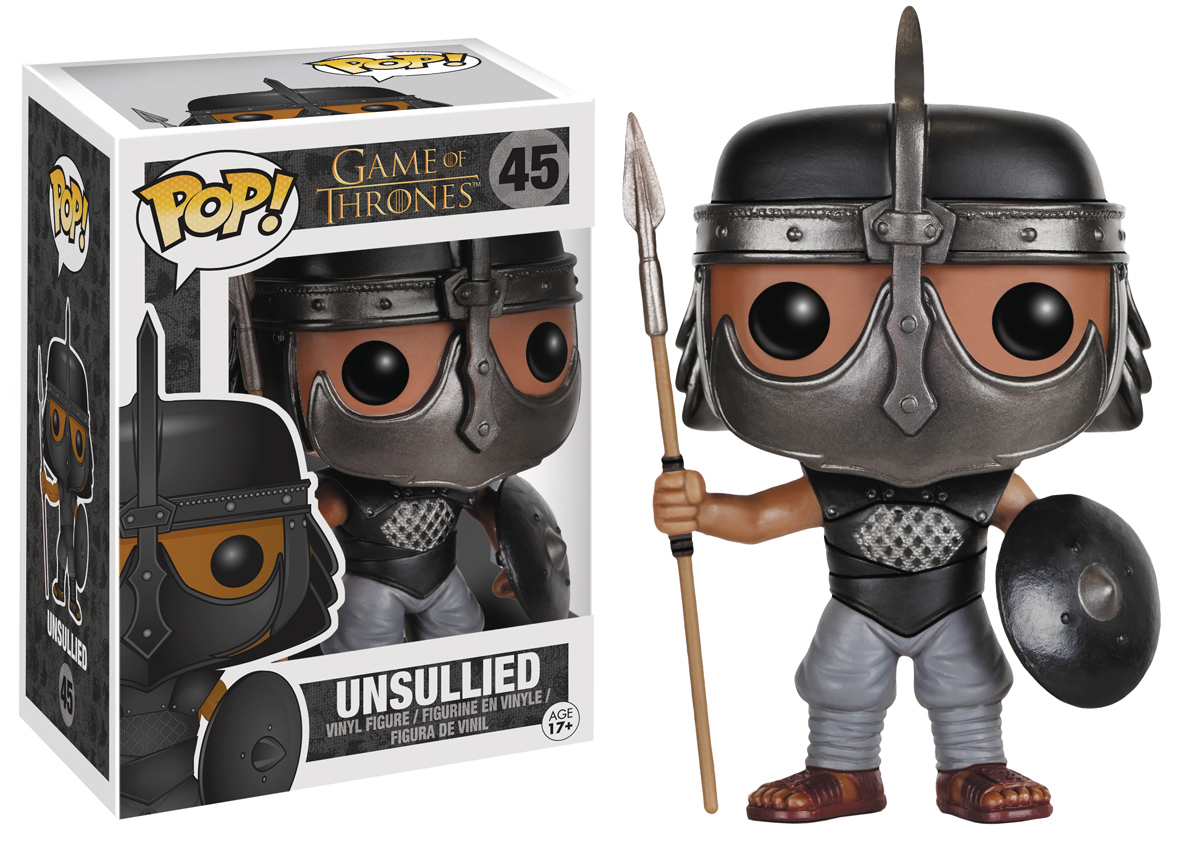 POP GAME OF THRONES UNSULLIED VINYL FIG
