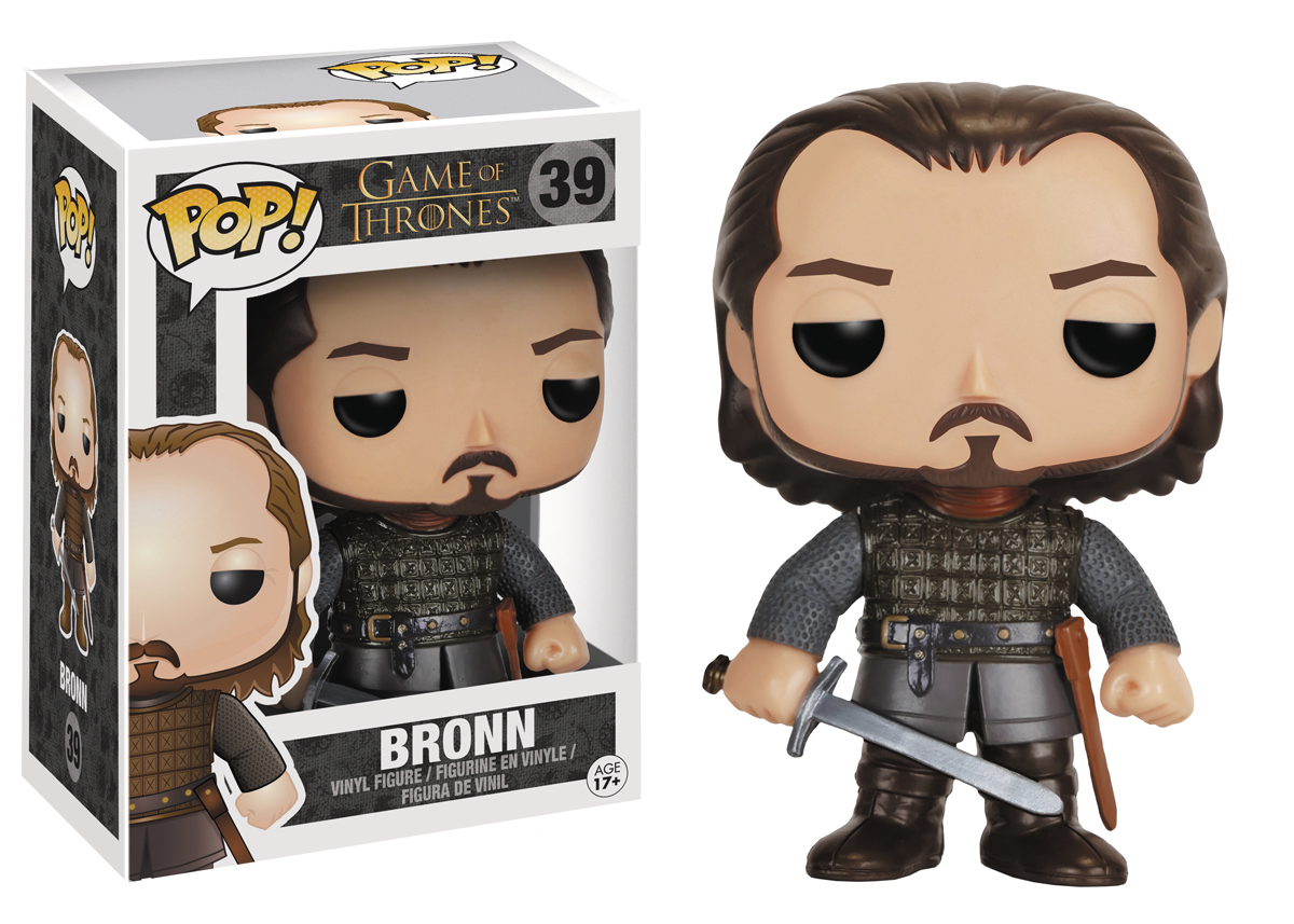 POP GAME OF THRONES BRONN VINYL FIG