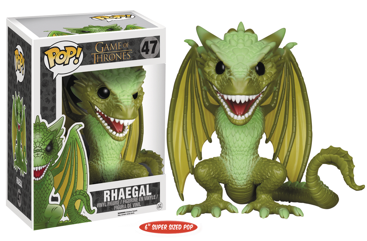 POP GAME OF THRONES RHAEGAL 6IN VINYL FIG