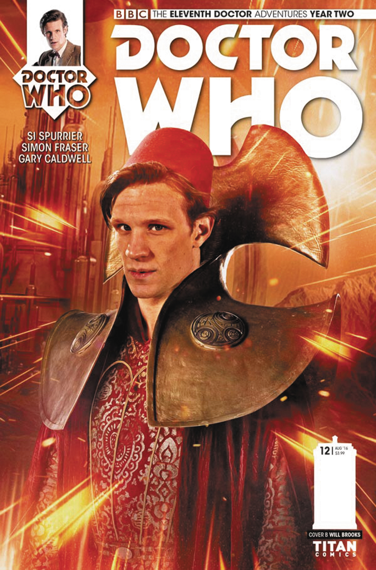 DOCTOR WHO 11TH YEAR TWO #12 CVR B PHOTO