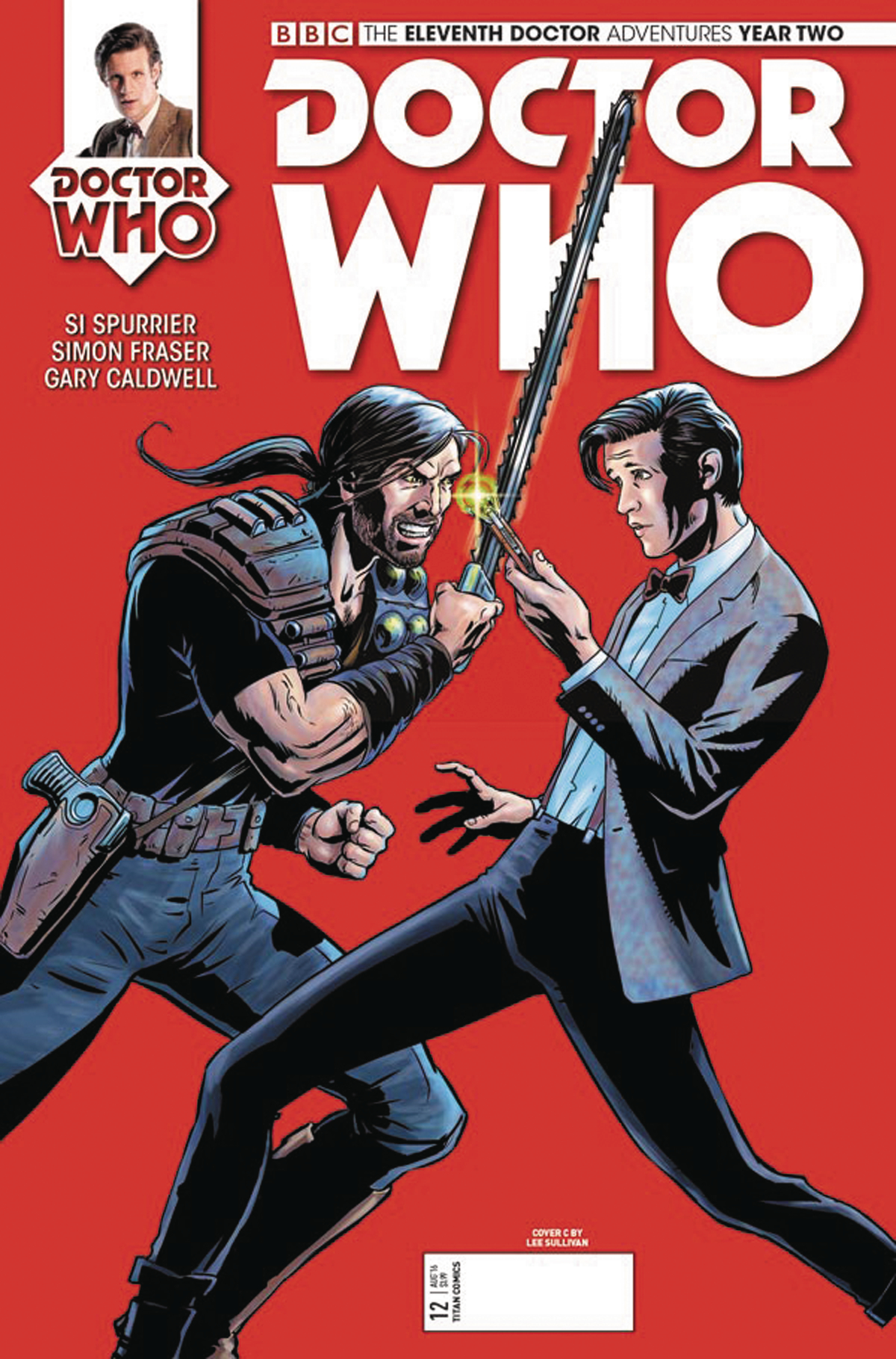 DOCTOR WHO 11TH YEAR TWO #12 CVR C SULLIVAN