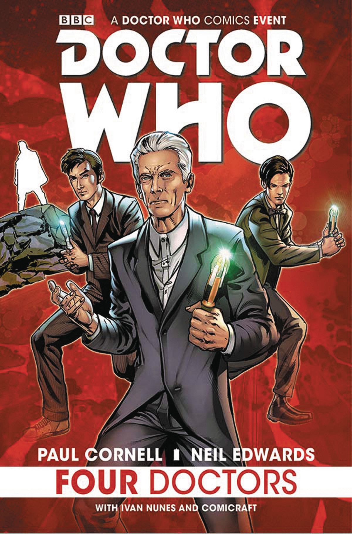 DOCTOR WHO 2015 FOUR DOCTORS TP