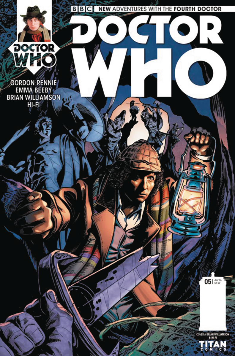 DOCTOR WHO 4TH #5 (OF 5) CVR A WILLIAMSON