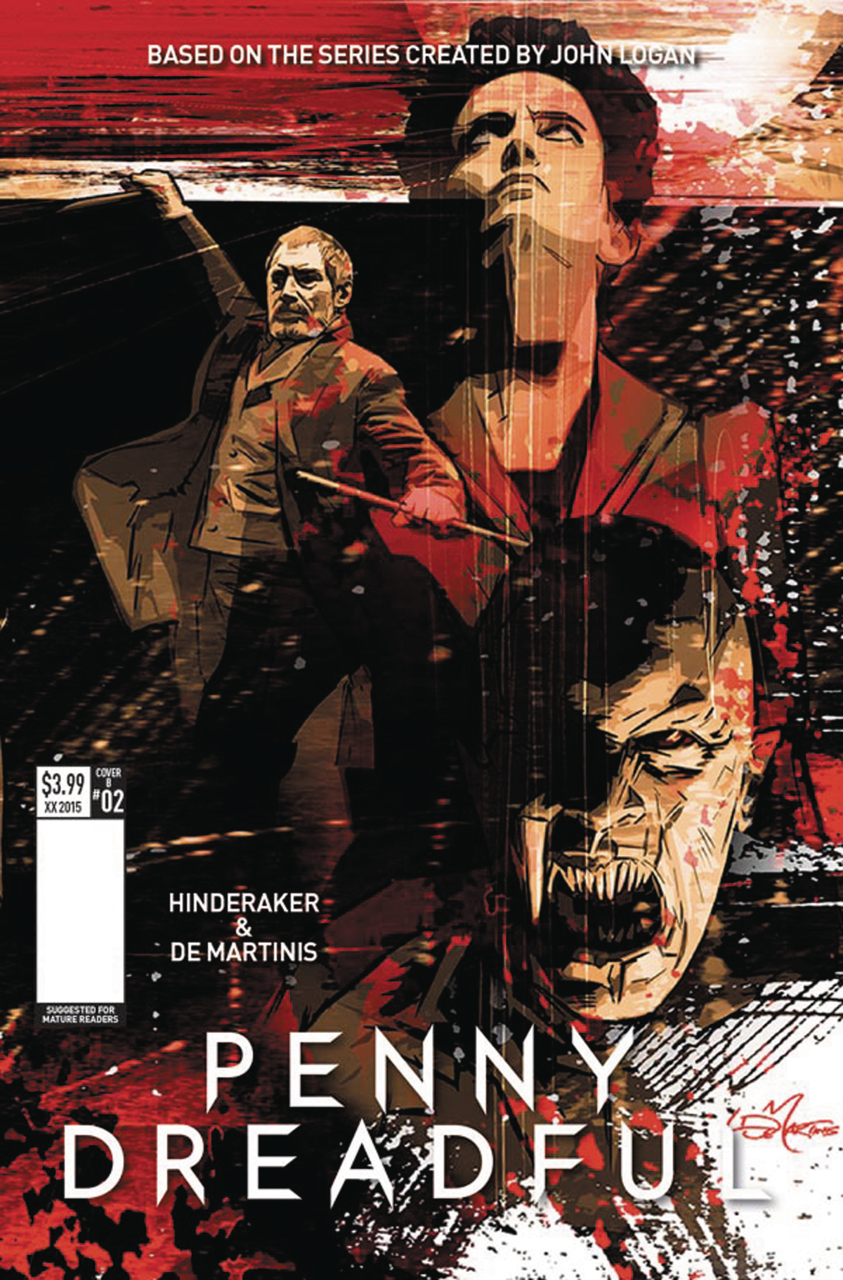 PENNY DREADFUL #2 (OF 5) CVR B DE MARTINIS (MR)