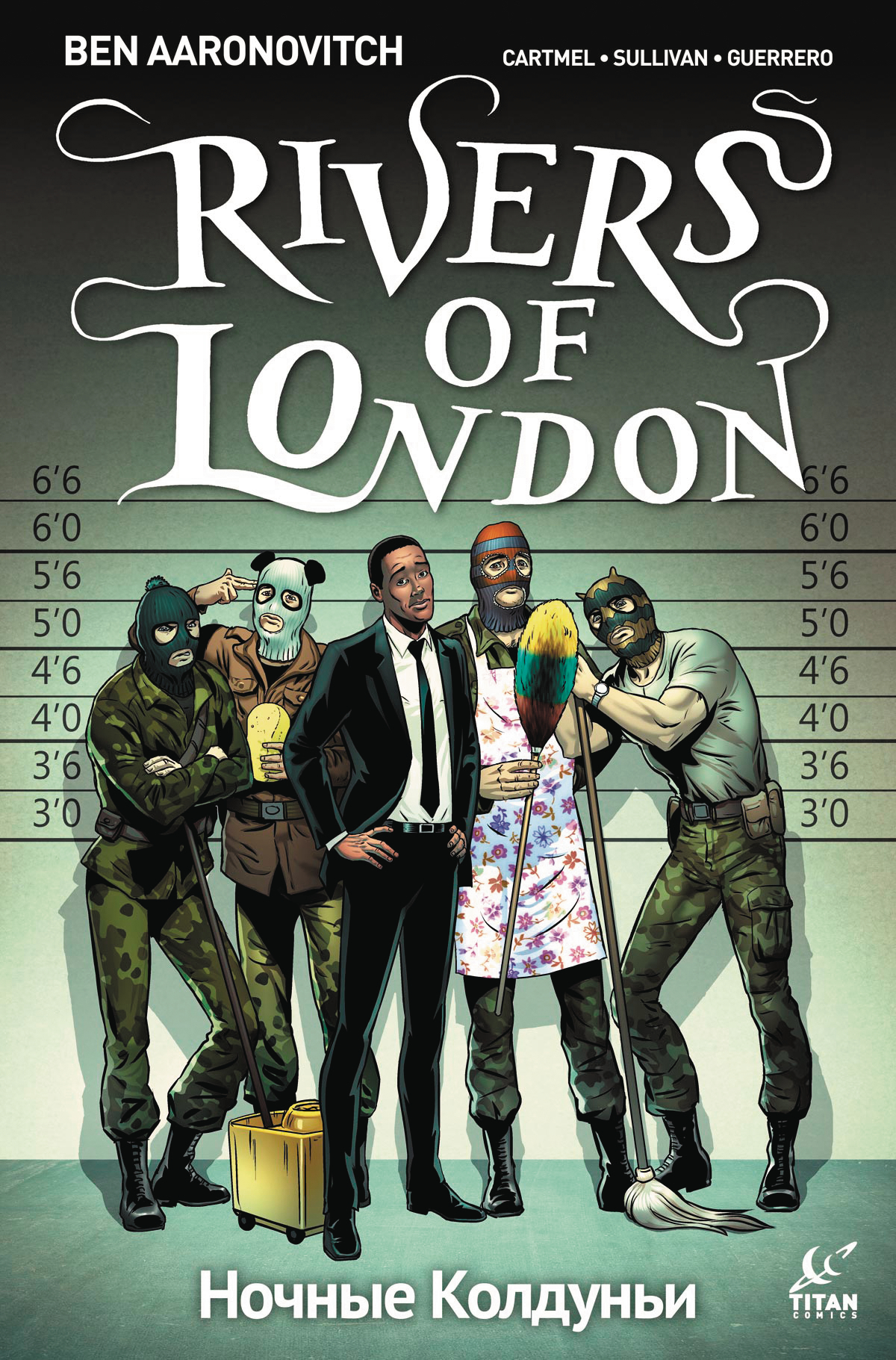 RIVERS OF LONDON NIGHT WITCH #4 (OF 5) CVR A SULLIVAN (MR)