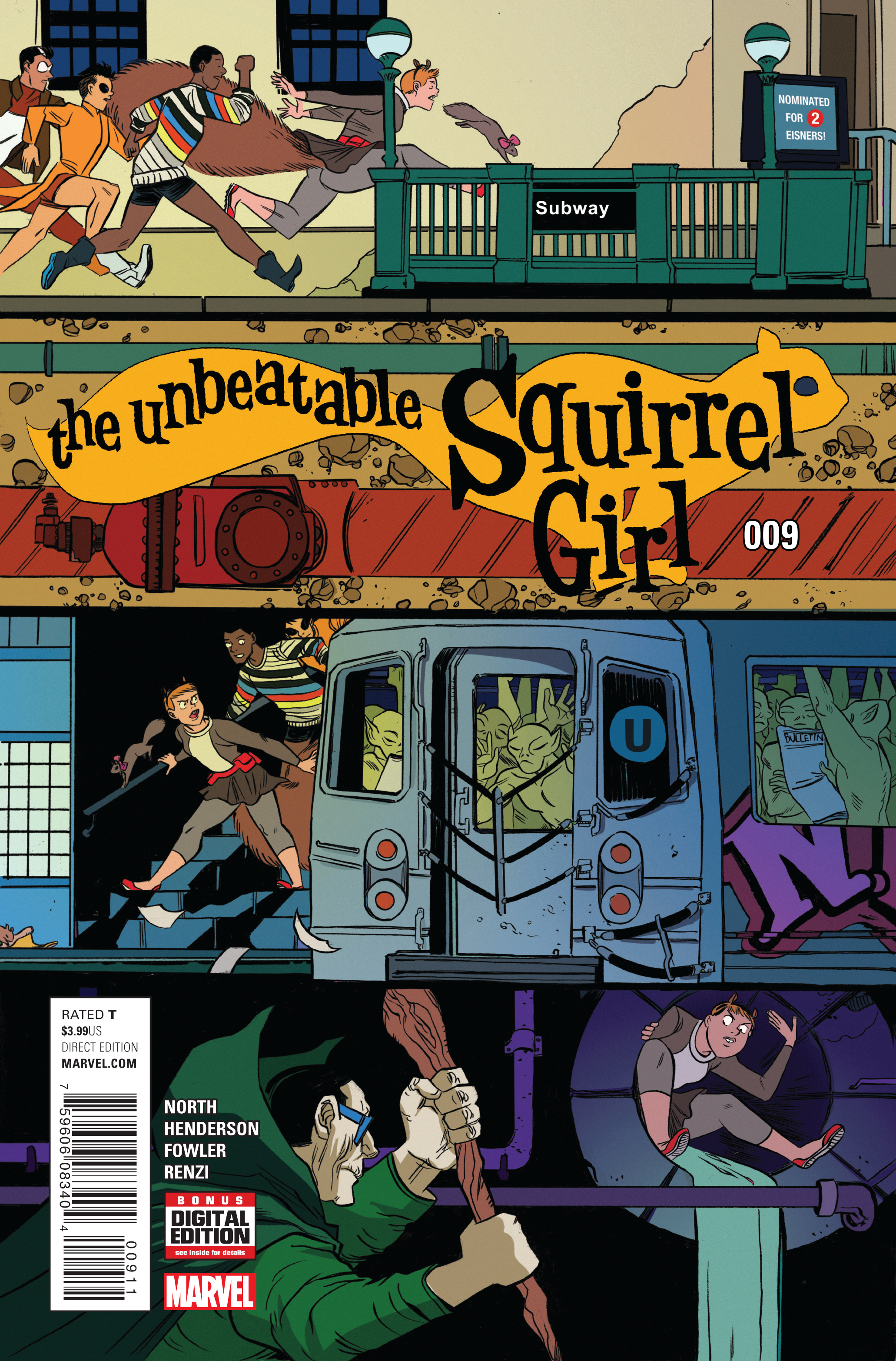 UNBEATABLE SQUIRREL GIRL #9