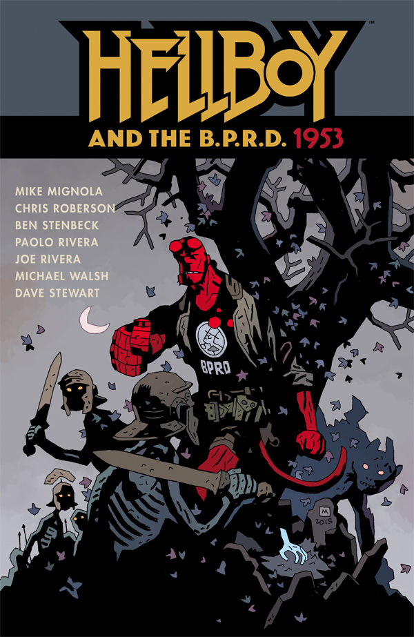 HELLBOY AND THE BPRD 1953 TP (APR160065)