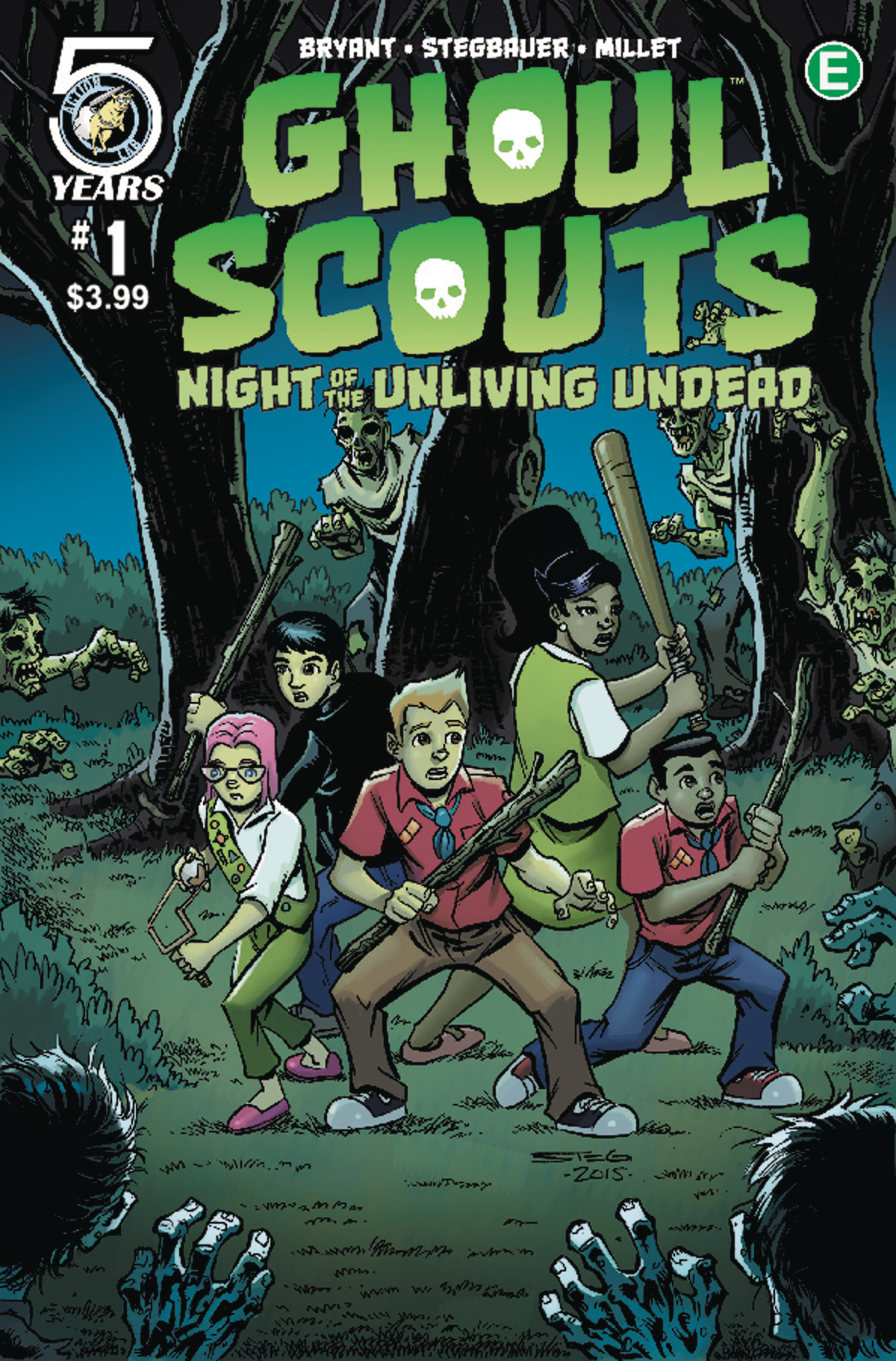 GHOUL SCOUTS NIGHT OF THE UNLIVING UNDEAD #1 CVR A STEGBAUER