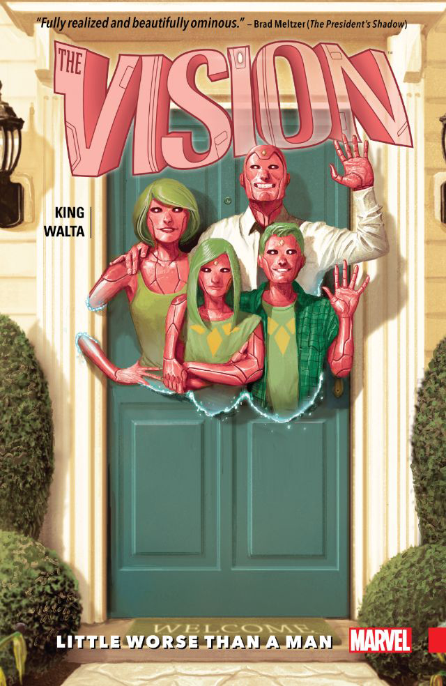 VISION TP VOL 01 LITTLE WORSE THAN MAN