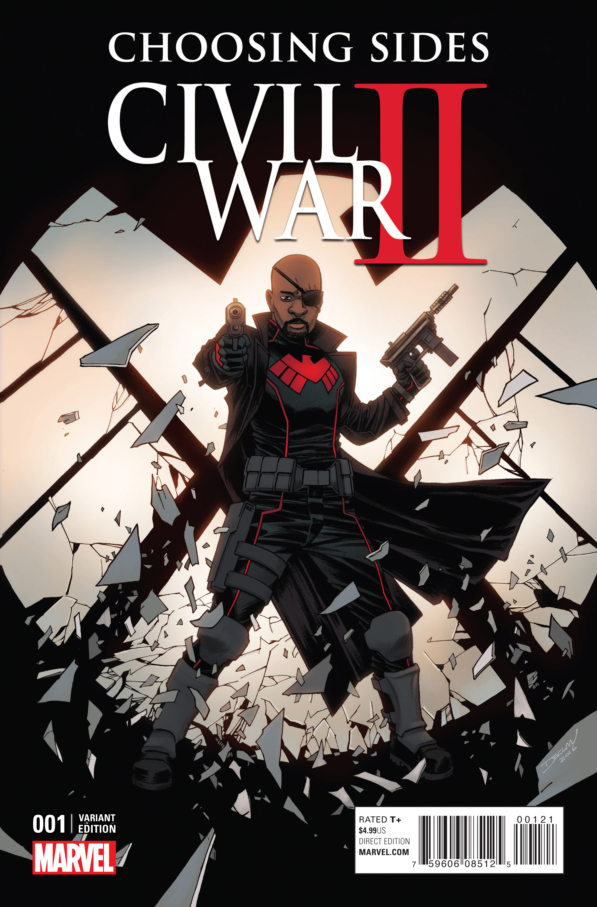 CIVIL WAR II CHOOSING SIDES #1 (OF 6) SHALVEY VAR