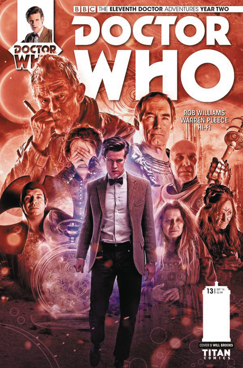 DOCTOR WHO 11TH YEAR TWO #13 CVR B PHOTO