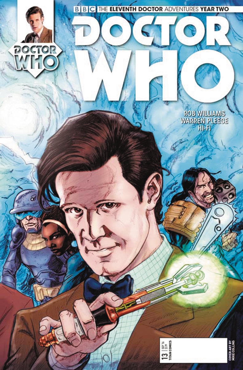 DOCTOR WHO 11TH YEAR TWO #13 CVR C COLLINS CONNECTING