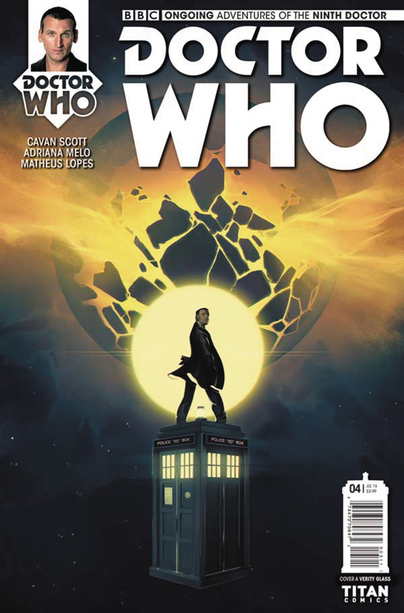 DOCTOR WHO 9TH #4 CVR A GLASS