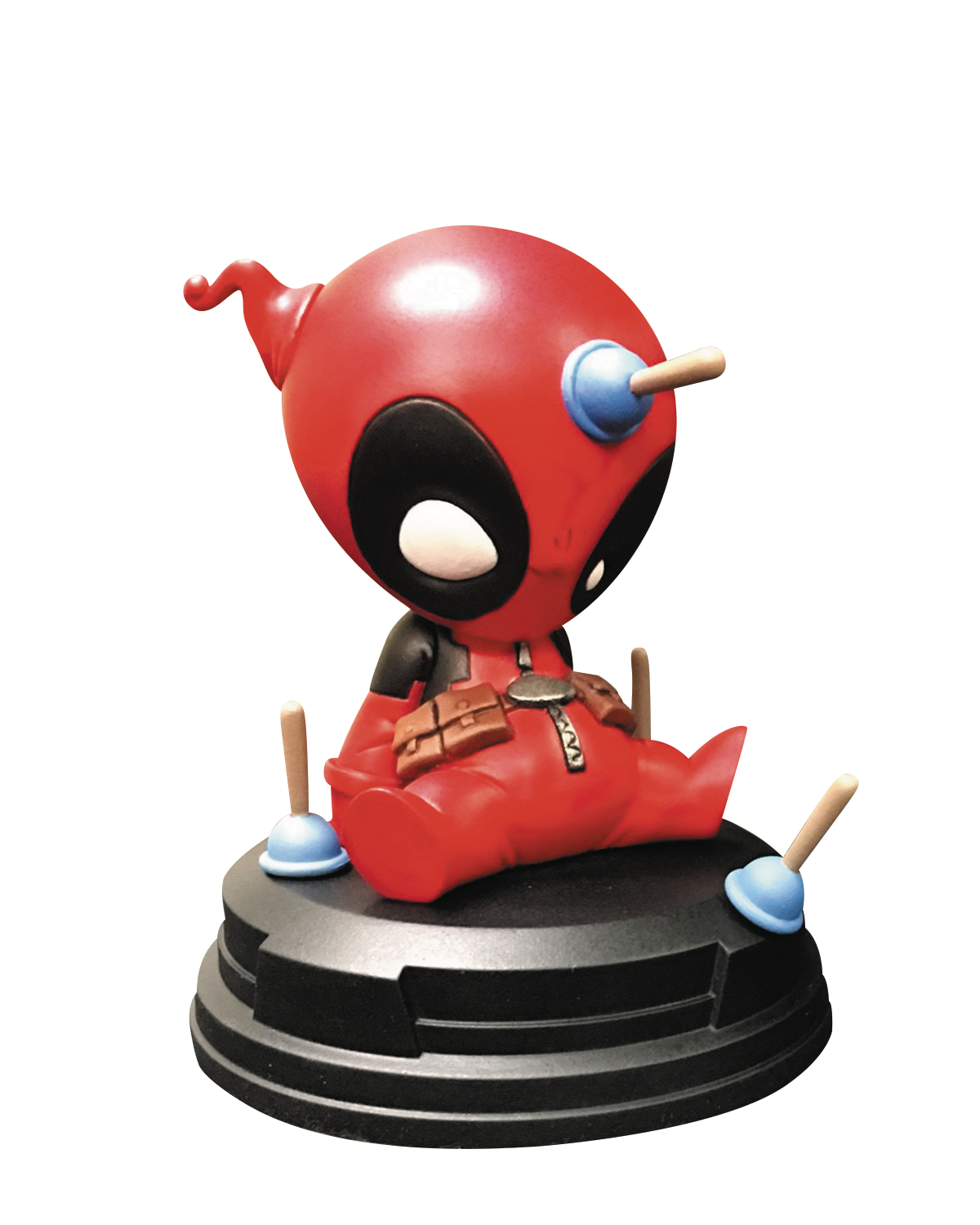 MARVEL ANIMATED STYLE DEADPOOL STATUE