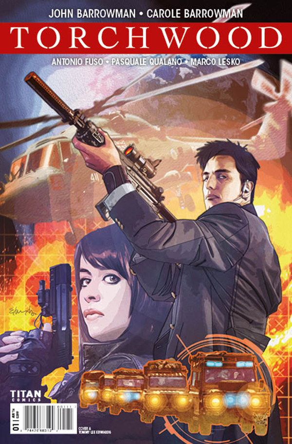 TORCHWOOD #1 CVR A EDWARDS