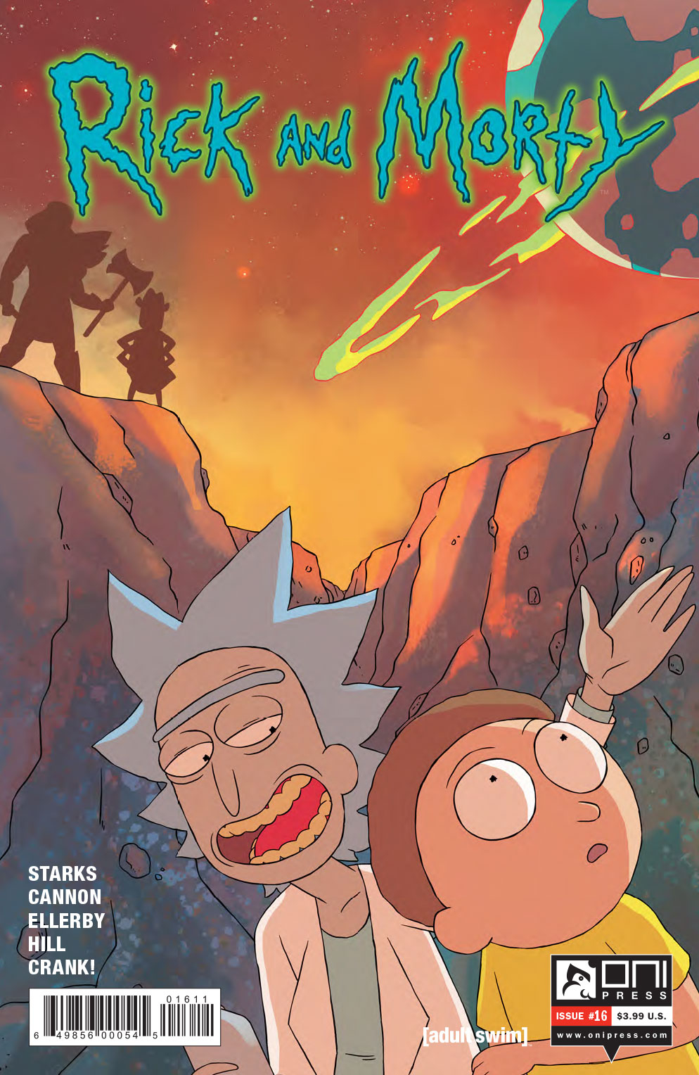 (USE MAY161678) RICK & MORTY #16