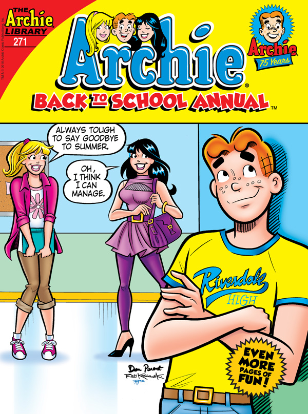 ARCHIE BACK TO SCHOOL ANNUAL DIGEST #271