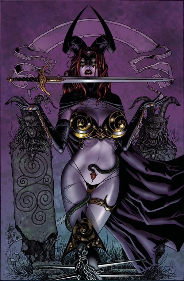 TAROT WITCH OF THE BLACK ROSE #99 (MR)