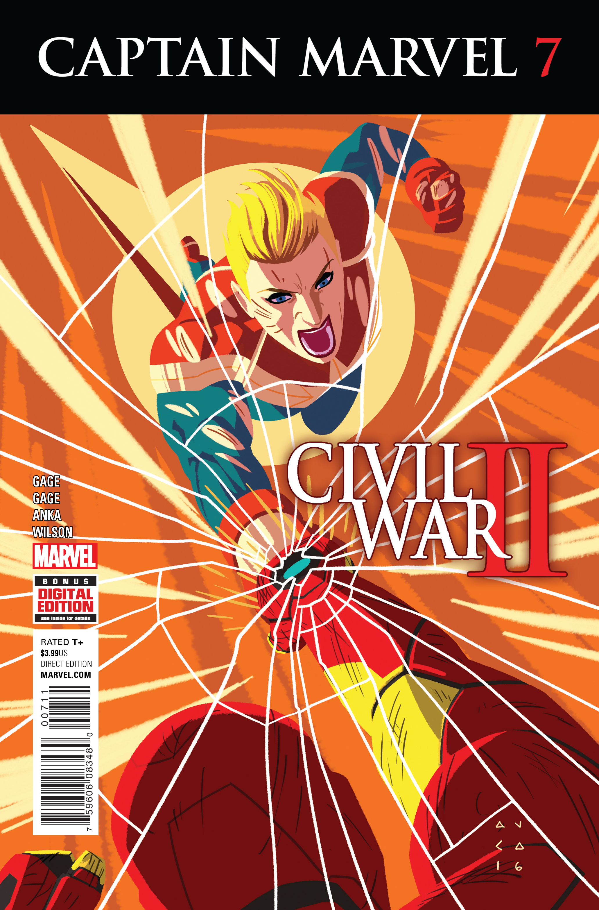 CAPTAIN MARVEL #7 CW2