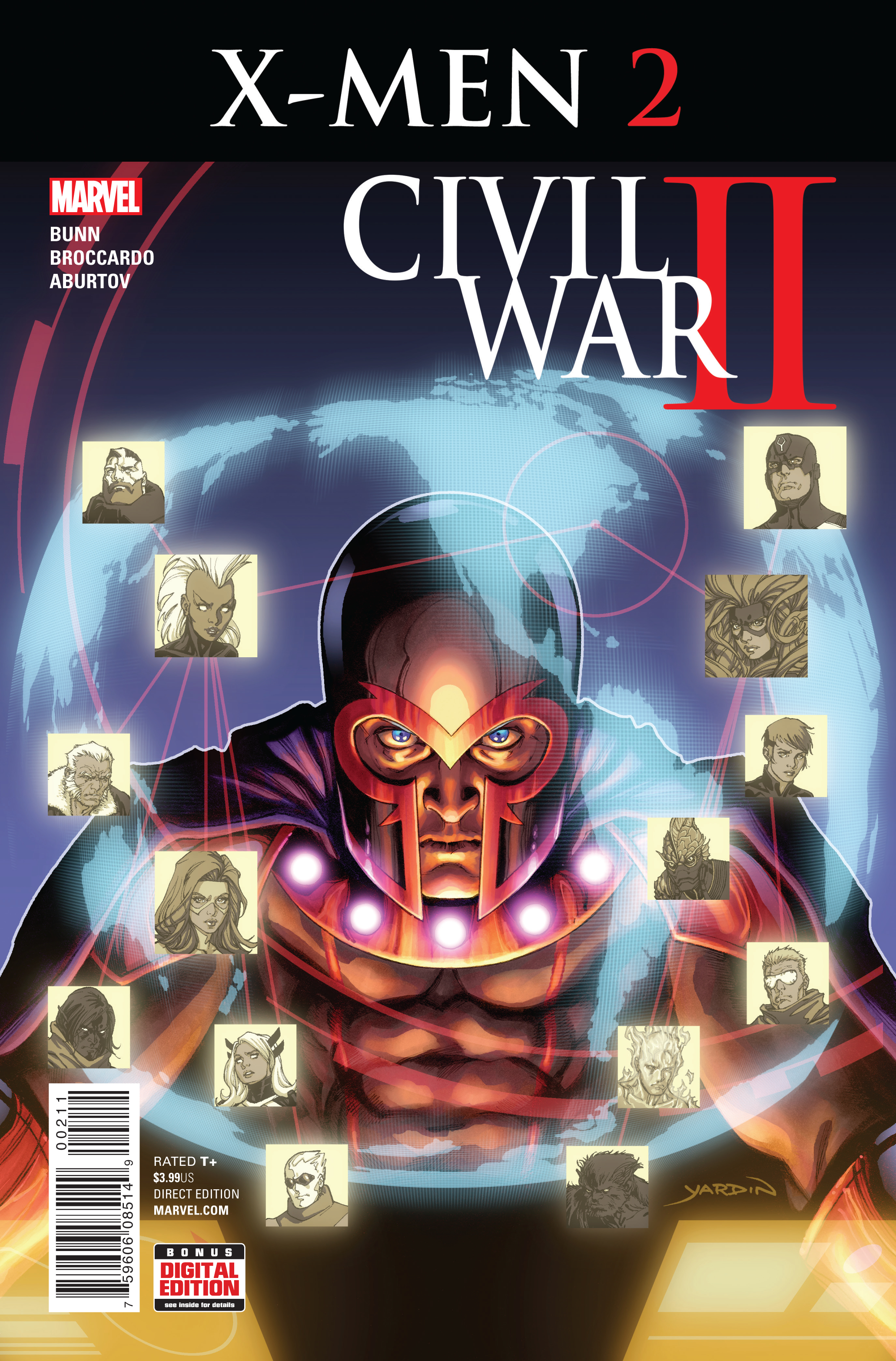 CIVIL WAR II X-MEN #2
