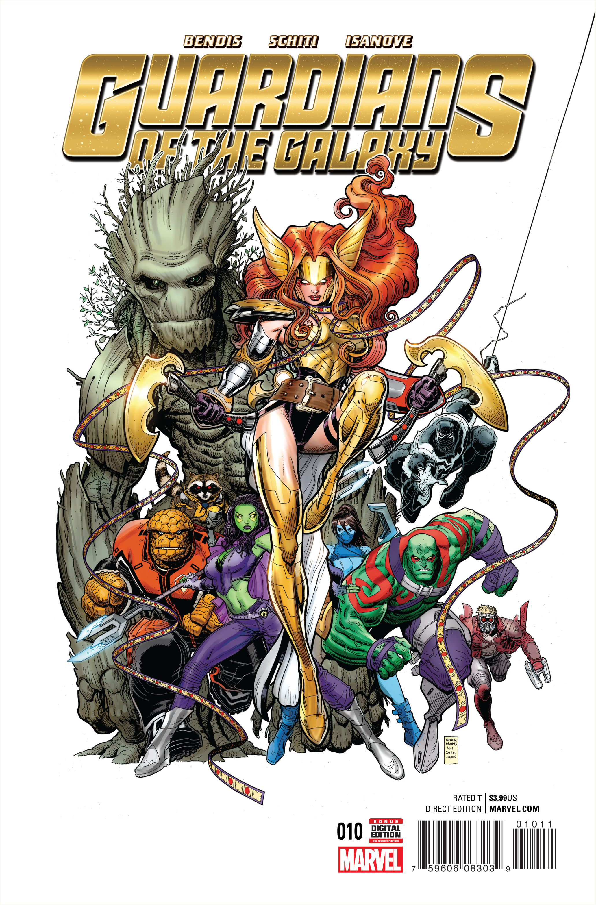 GUARDIANS OF GALAXY #10