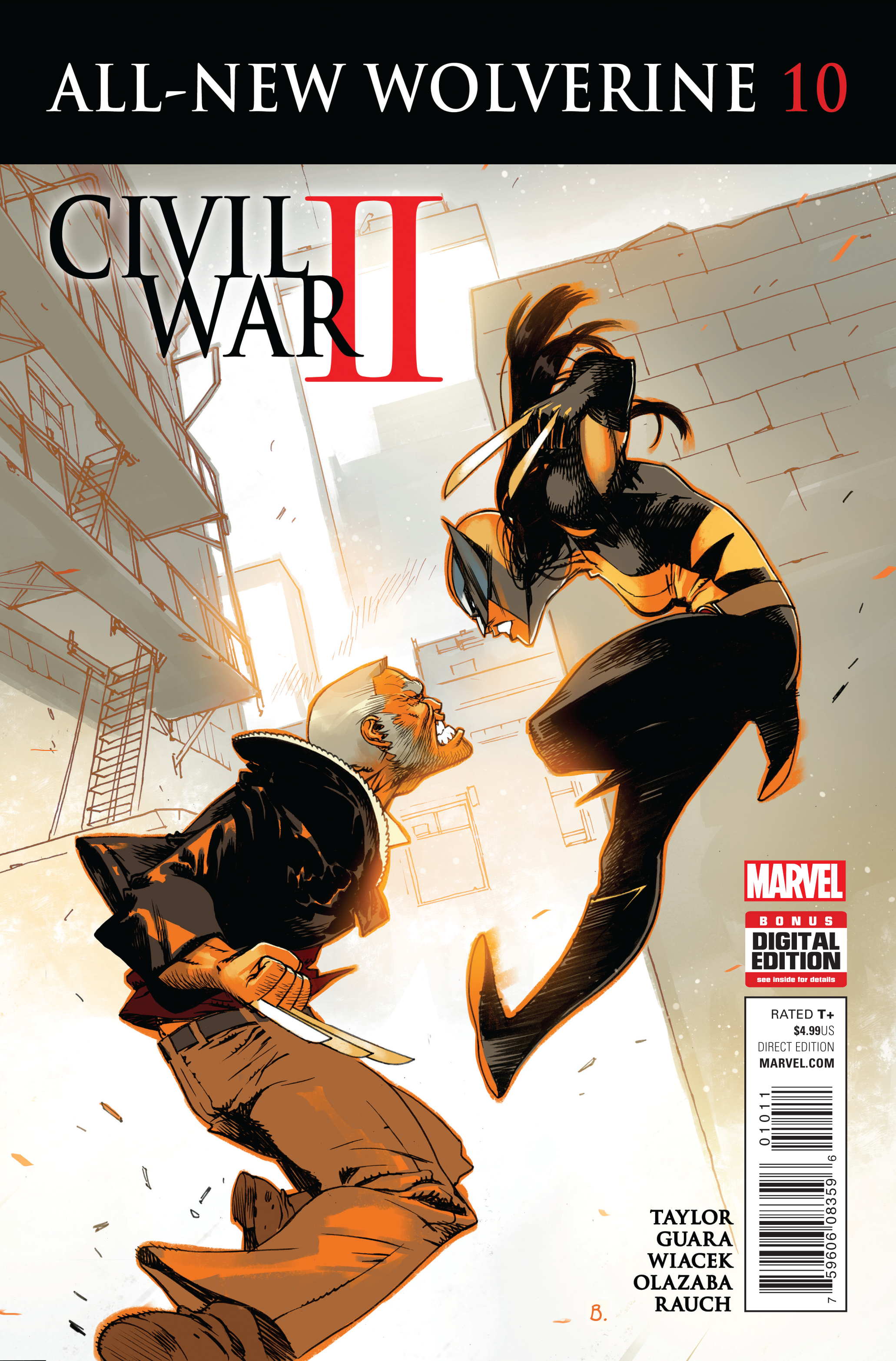 ALL NEW WOLVERINE #10 CW2