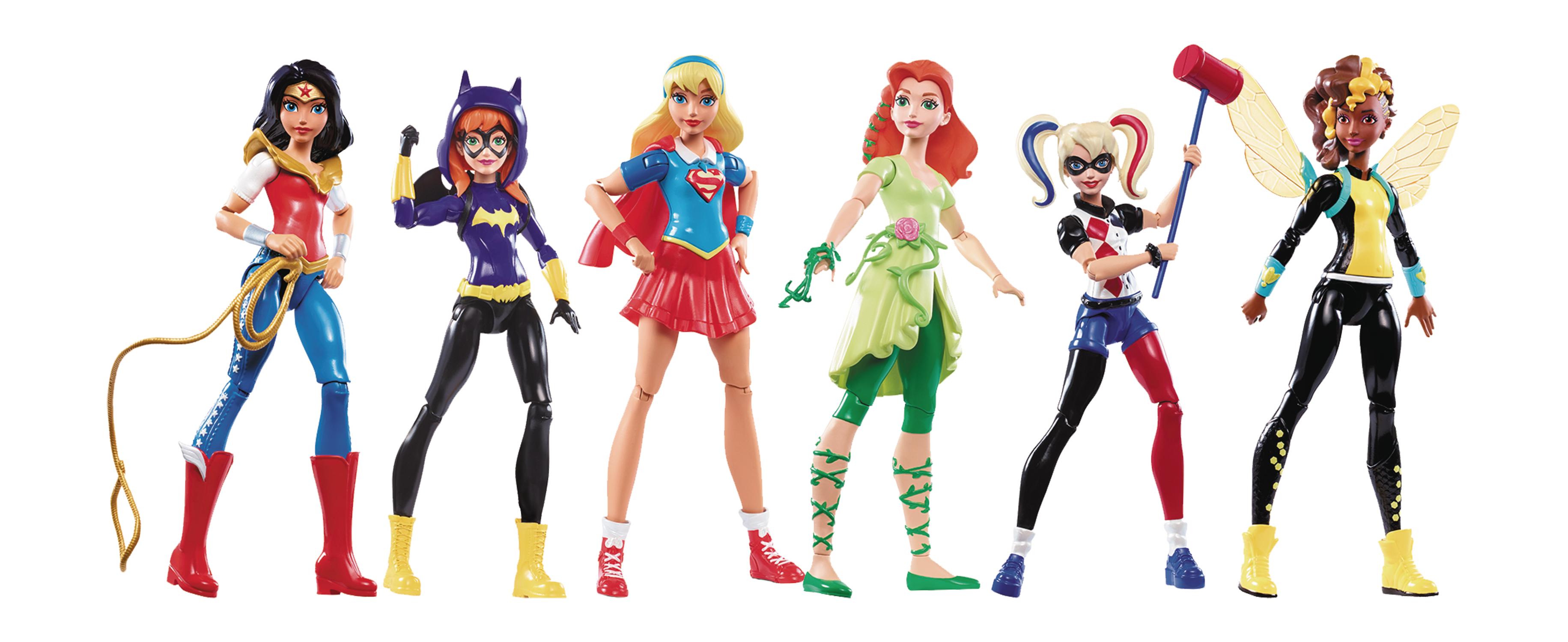 DC SUPER HERO GIRLS CORE CHARACTER 6IN AF ASST