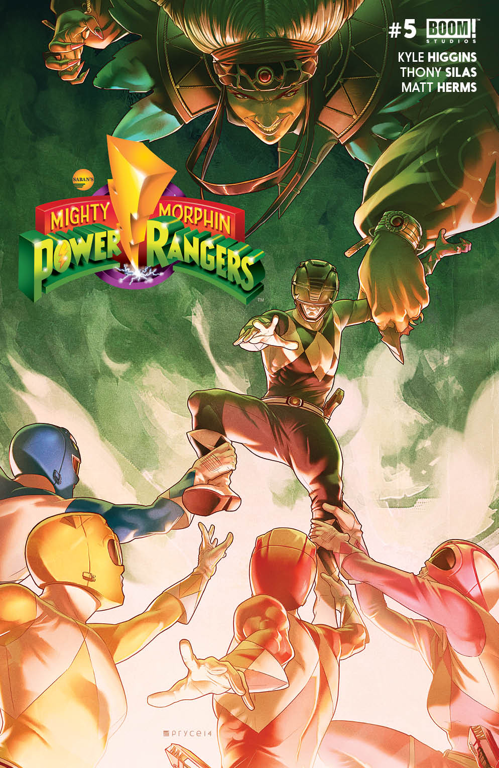 MIGHTY MORPHIN POWER RANGERS #5 MAIN CVR