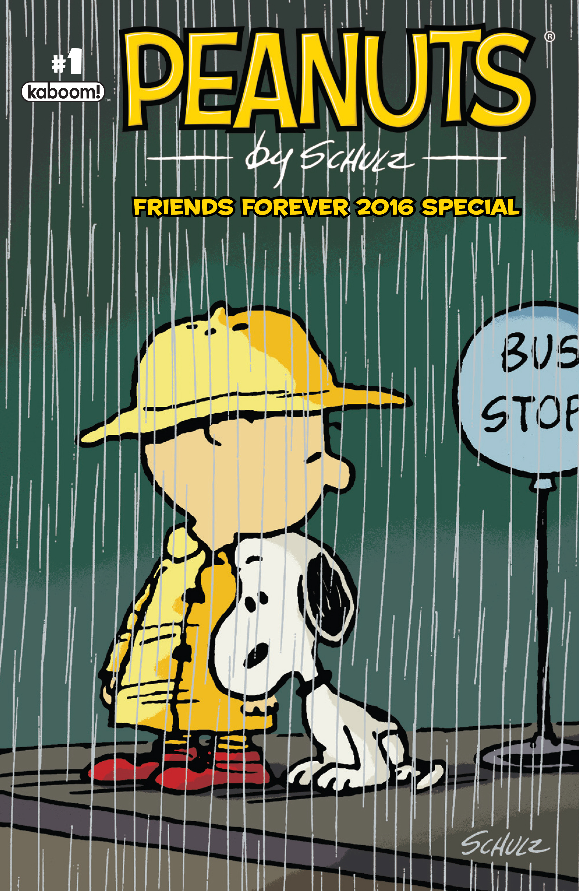 PEANUTS FRIENDS FOREVER 2016 SPECIAL #1