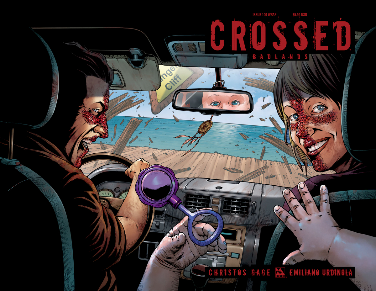CROSSED BADLANDS #100 WRAP CVR (MR)