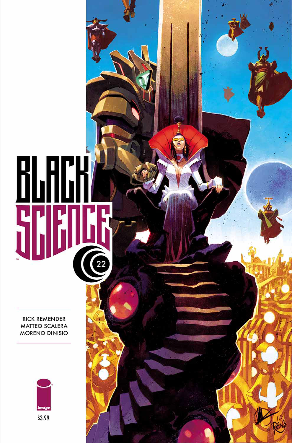BLACK SCIENCE #22 (MR)