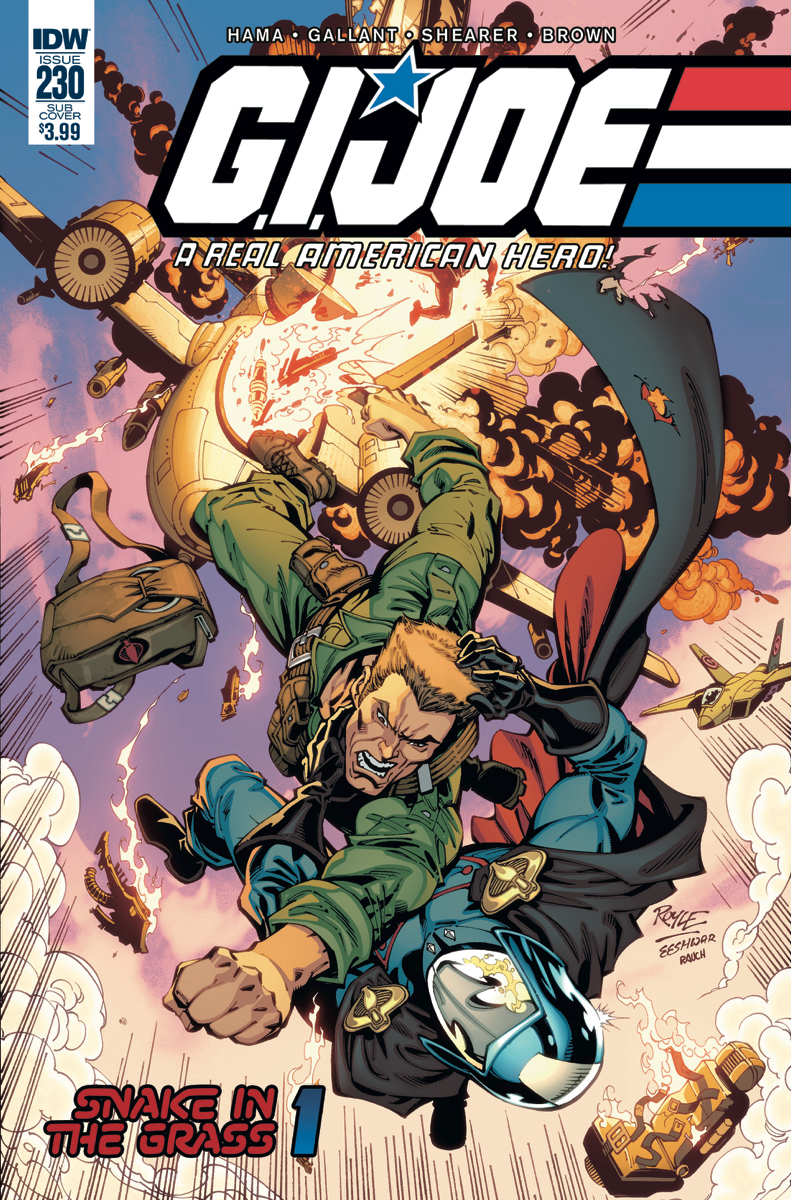 GI JOE A REAL AMERICAN HERO #230 SUBSCRIPTION VAR