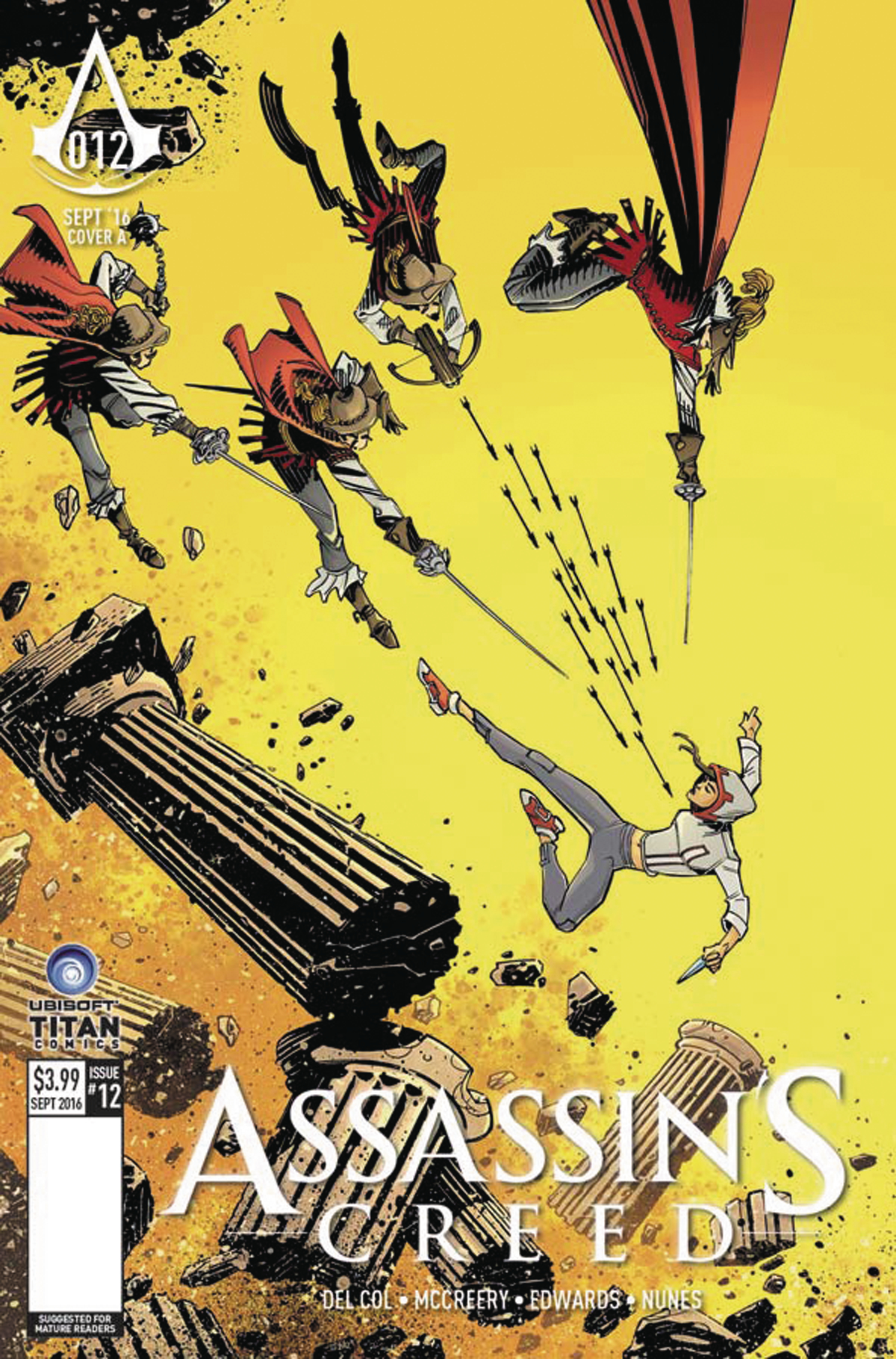 ASSASSINS CREED #12 CVR A MCCREA (MR)