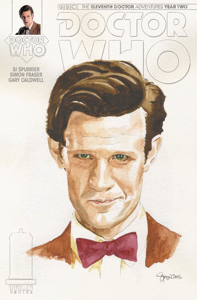 DOCTOR WHO 11TH YEAR TWO #14 CVR C MYERS WATERCOLOR VAR