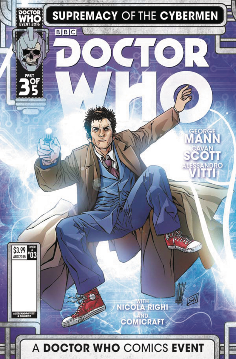 DOCTOR WHO SUPREMACY OF THE CYBERMEN #3 (OF 5) CVR A VITTI