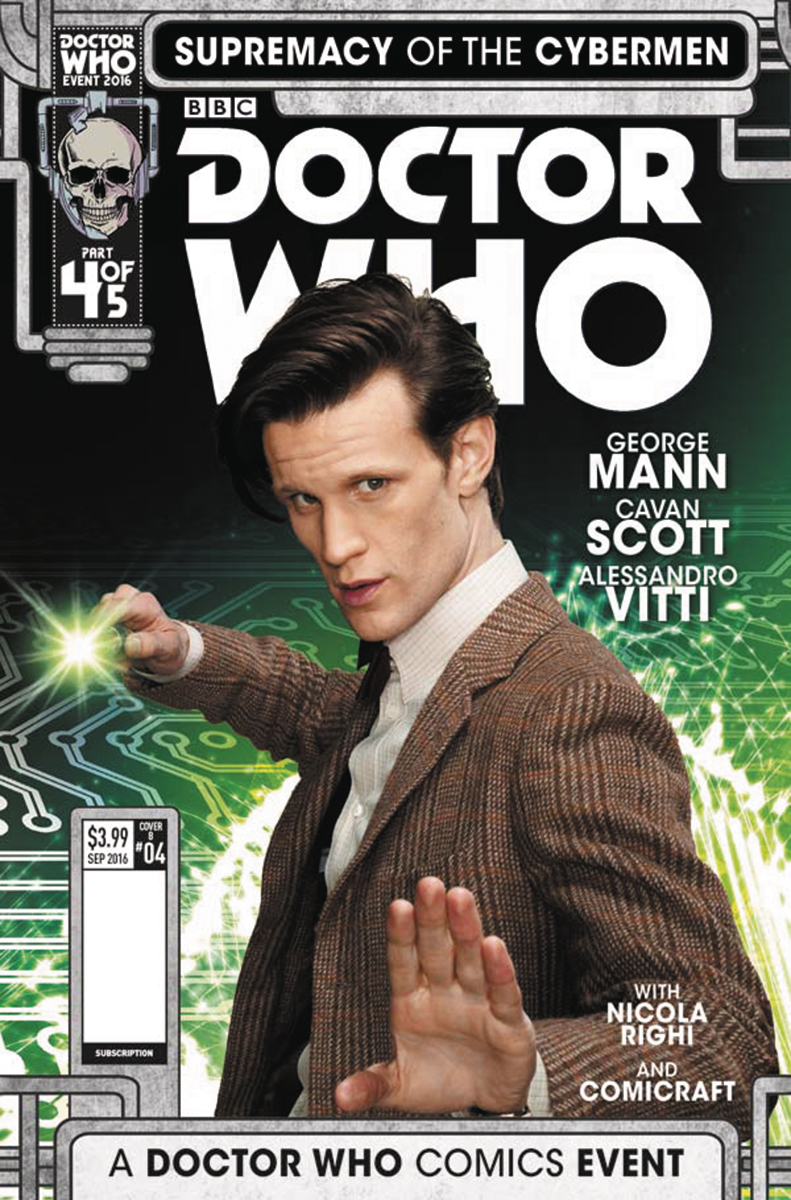 DOCTOR WHO SUPREMACY OF THE CYBERMEN #4 (OF 5) CVR B PHOTO