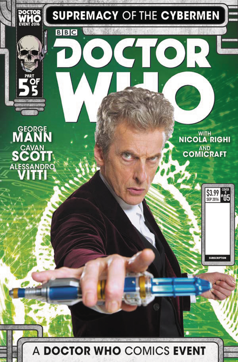DOCTOR WHO SUPREMACY OF THE CYBERMEN #5 (OF 5) CVR B PHOTO