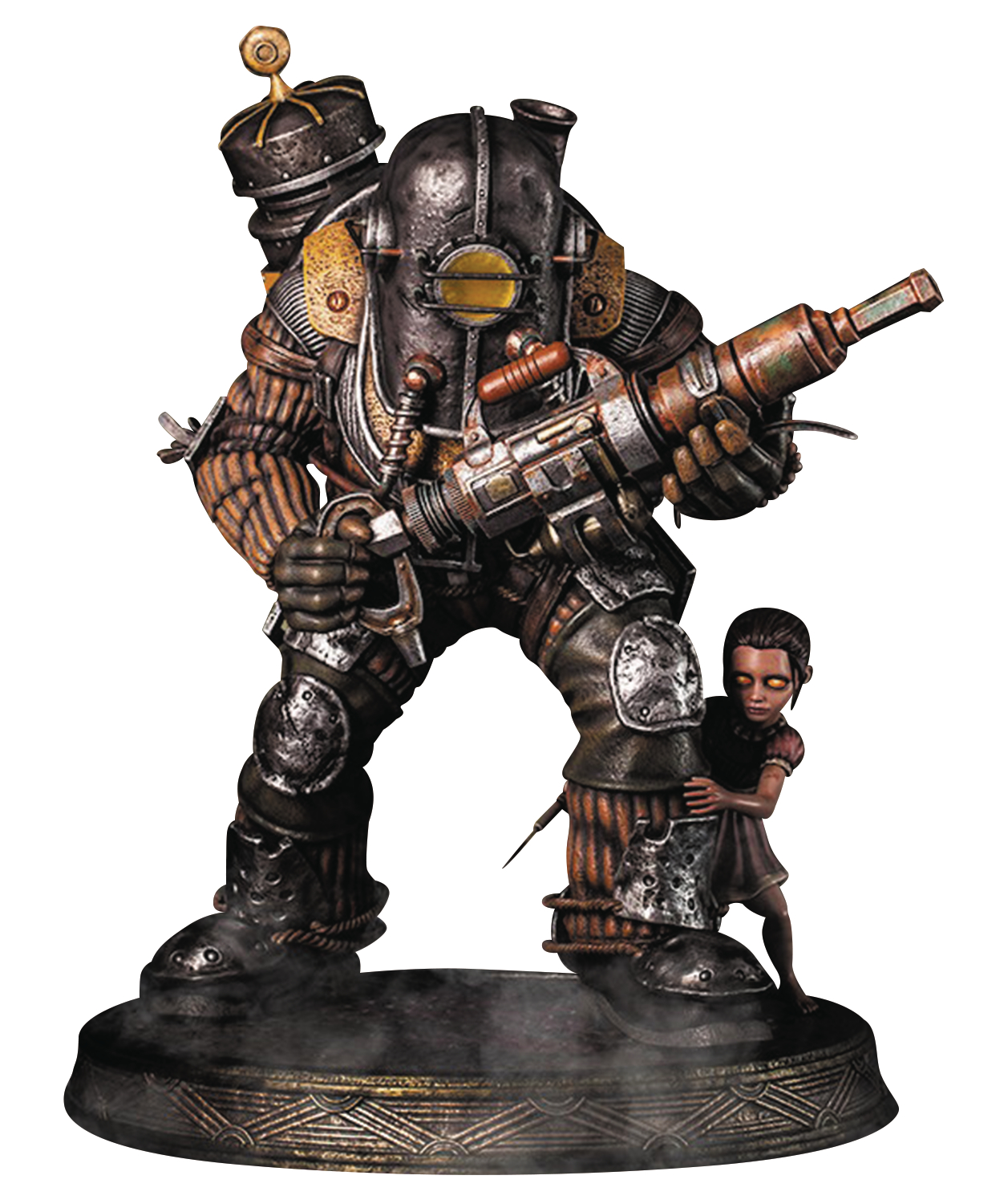 Mar168096 bioshock big daddy rosie statue previews world for Big daddy s antiques