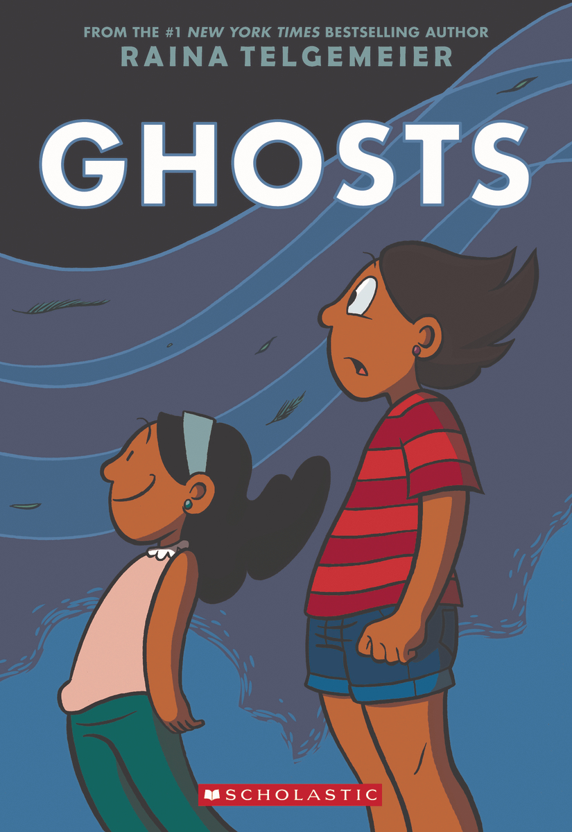 Ghosts by Raina Telgemeier 2016 Scholastic Paperbook Halloween