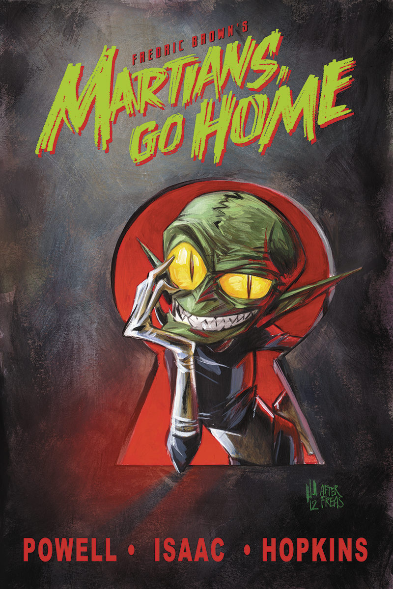 FREDRIC BROWNS MARTIANS GO HOME HC